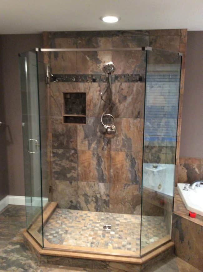 Bath Remodel after